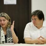 Visita de la Ministra de Cultura.Joaquín Sarmiento/Archivo FNPI