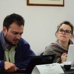 De izquierda a derecha: Emiliano Ruiz-Parra (México) y Raquel Ribeiro (Portugal)
