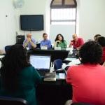 Sesión con los Maestros del Módulo de Literatura. Beca GGM de Periodismo Cultural. Álvaro Delgado /Archivo FNPI