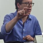 Mario Jursich, maestro invitado. Beca GGM de Periodismo Cultural. Álvaro Delgado /Archivo FNPI