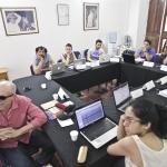 Sesión del Módulo de Música de la Beca Gabriel García Márquez de Periodismo Cultural 2013. Archivo FNPI