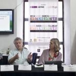 Sesión de la Beca GGM con los maestros .Archivo FNPI