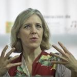 Sesión de la Beca GGM con Anne Midgette (EU). Joaquín Sarmiento /Archivo FNPI