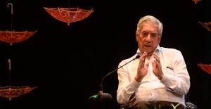 Mario Vargas Llosa Nobel de Literarura 2010, en un conversatorio del Hay Festival. Cartagena de Indias. Johana Peña/Archivo FNPI