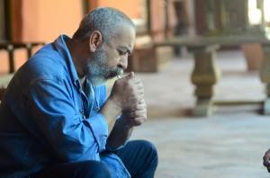 Leonardo Padura, en el Hotel Santa Clara,durante el Hay Festival Cartagena. Álvaro DelgadoArchivo FNPI