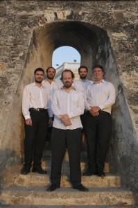 El Quinteto argentino,de Diego Schicci. después de la presentación en el Claustro La Merced. Joaquín Sarmiento/Archivo FNPI