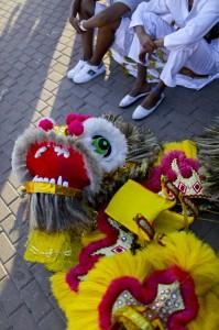 Máscara del Carnaval de Barranquilla. Joaquín Sarmiento/Archivo FNPI.