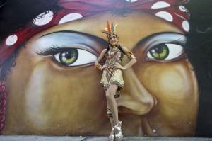 Daniela Cepeda Tarud, Reina del carnaval. Joaquín Sarmiento/Archivo FNPI