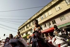 Comparsa del Carnaval. Joaquín Sarmiento/Archivo FNPI